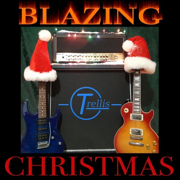 Cover art for Blazing Christmas