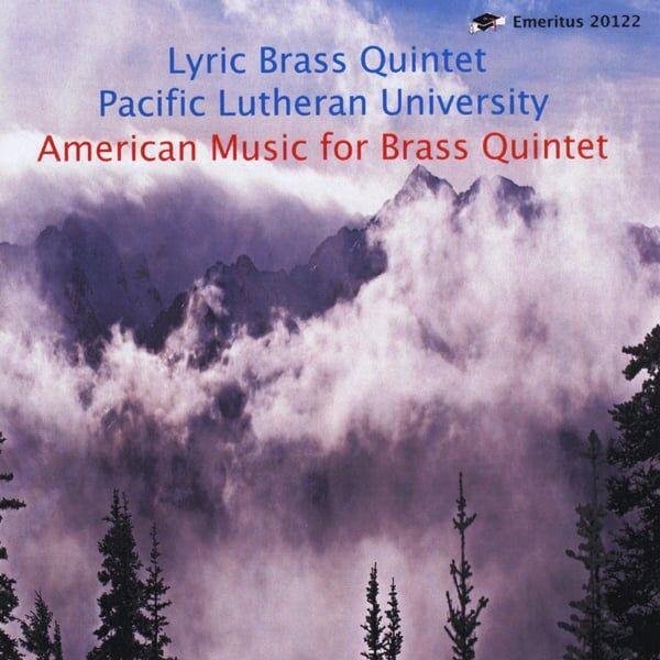 Cover art for American Music for Brass Quintet