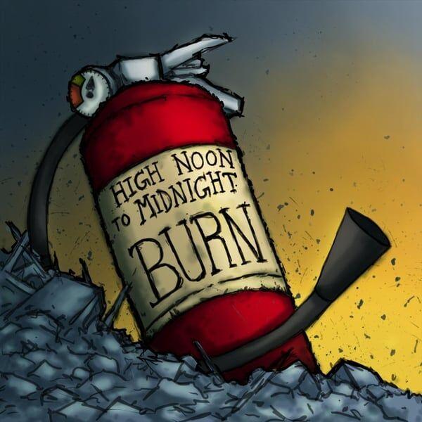 Cover art for Burn - EP