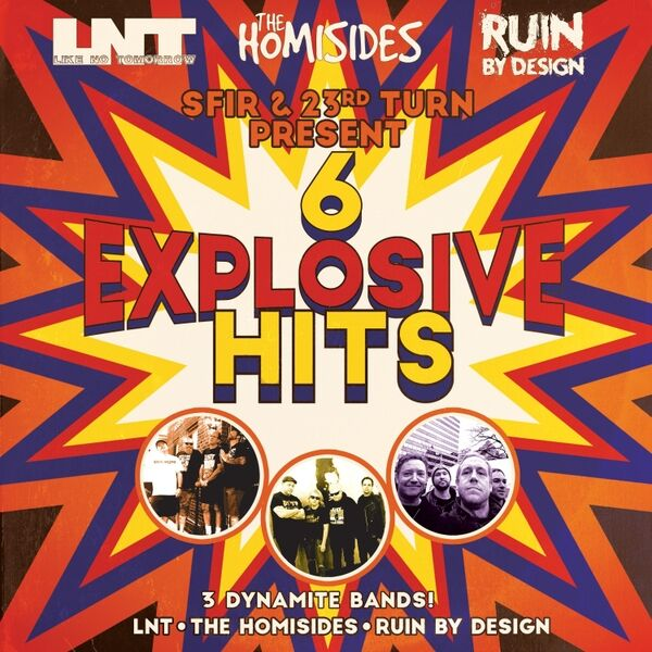 Cover art for 6 Explosive Hits