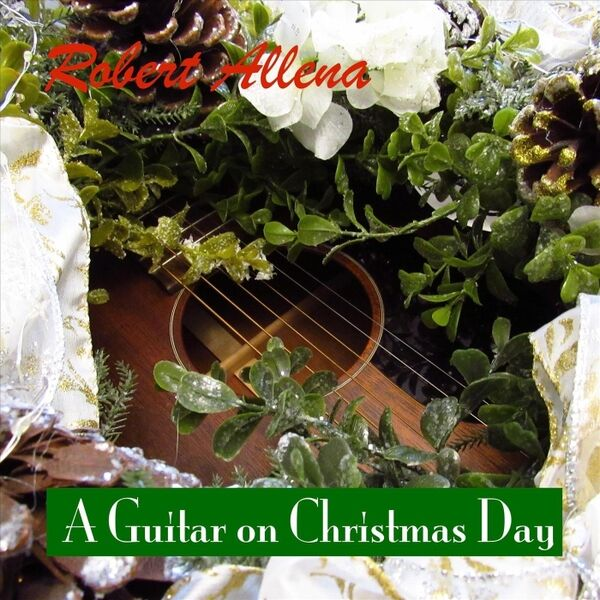 Cover art for A Guitar on Christmas Day