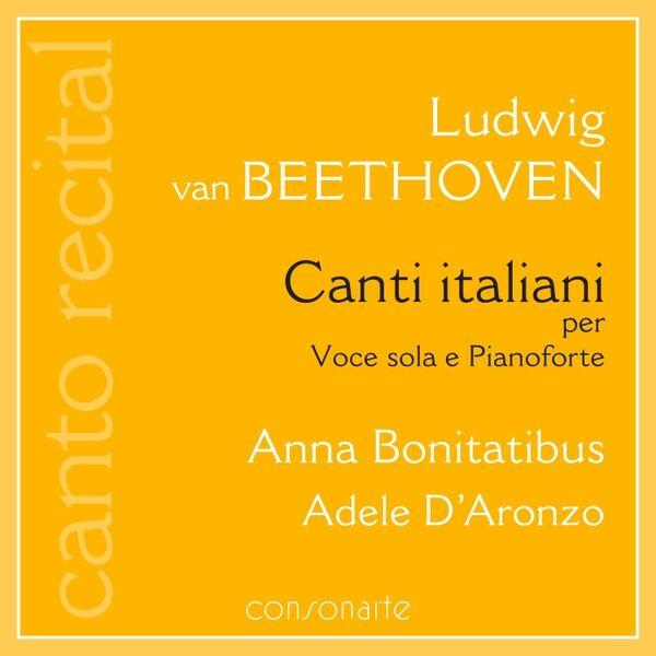Cover art for Ludwig van Beethoven: Canti italiani per Voce sola e Pianoforte