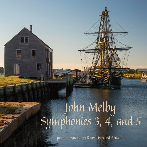 Cover art for Symphonies 3, 4, and 5