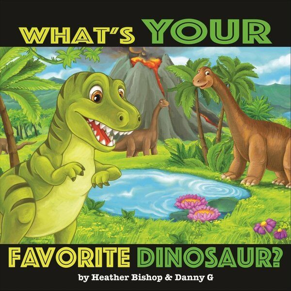 Cover art for What's Your Favorite Dinosaur?
