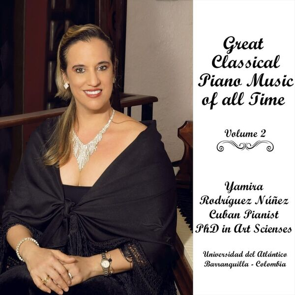 Cover art for Great Classical Piano Music of All Time, Vol. 2