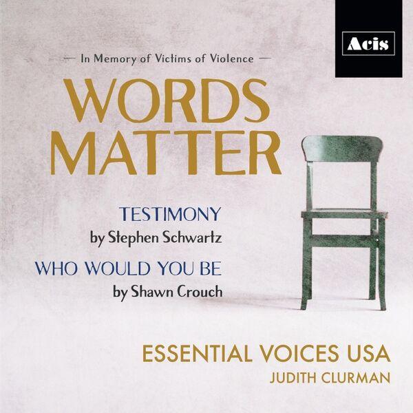 Cover art for Words Matter