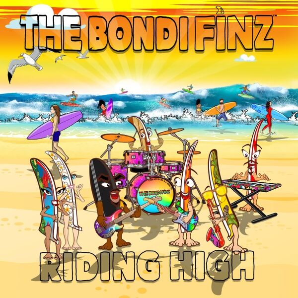 Cover art for Riding High