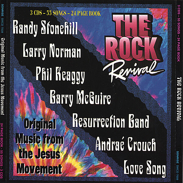 Cover art for The Rock Revival  -- Music of the Jesus Movement