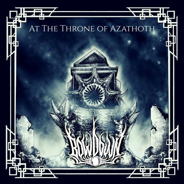 Cover art for At the Throne of Azathoth