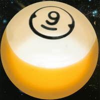 9 Ball in the Corner Pocket