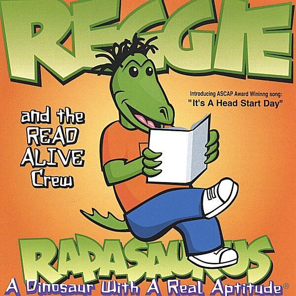 Cover art for Reggie Rapasaurus