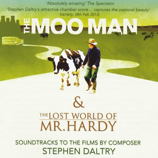 Cover art for The Moo Man & the Lost World of Mr Hardy