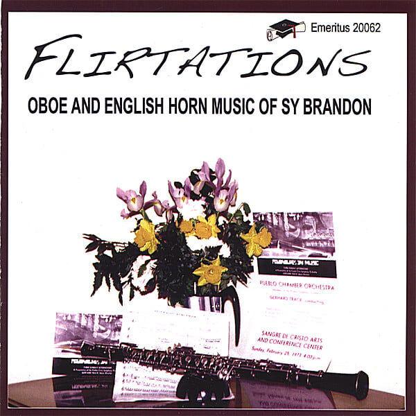 Cover art for Flirtations - Oboe and English Horn Music