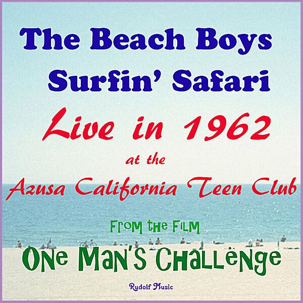 Cover art for Surfin' Safari Live 1962