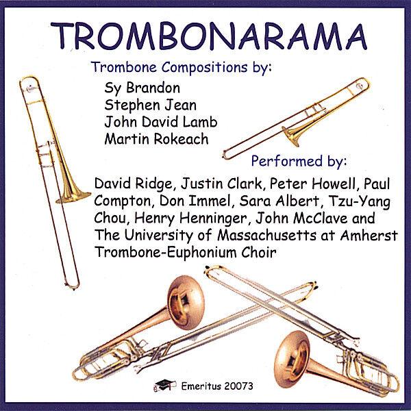 Cover art for Trombonarama