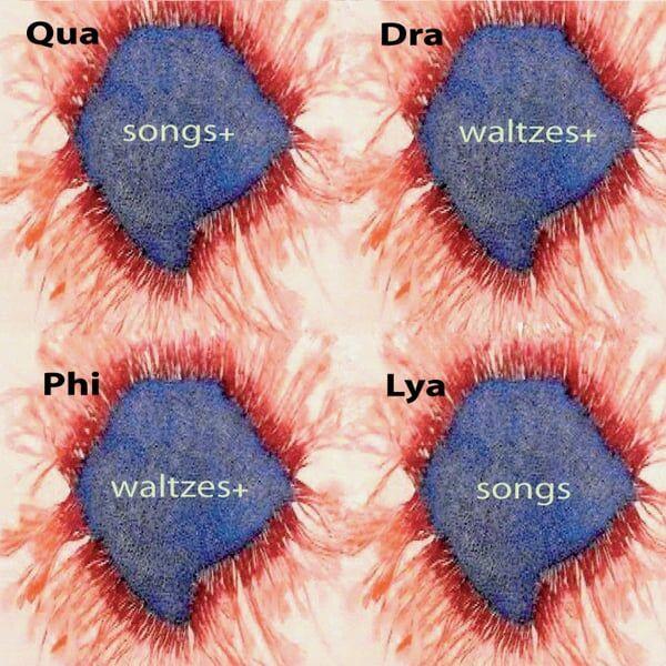 Cover art for Quadraphilya: Songs+ Waltzes+ Waltzes+ Songs