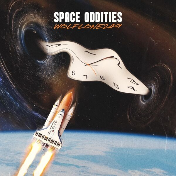 Cover art for Space Oddities