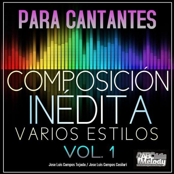 Cover art for Composición Inédita Varios Estilos, Vol. 1