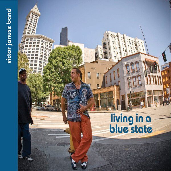 Cover art for Living in a Blue State