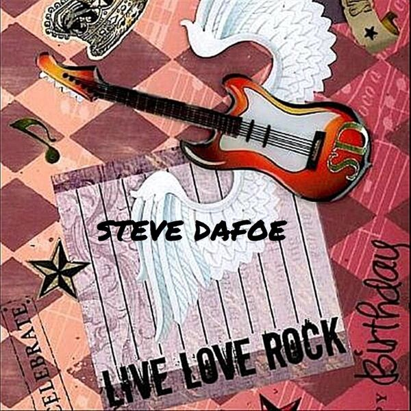 Cover art for Live Love Rock