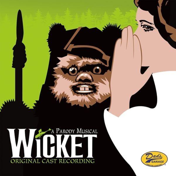 Cover art for Wicket: A Parody Musical (Original Cast Recording)