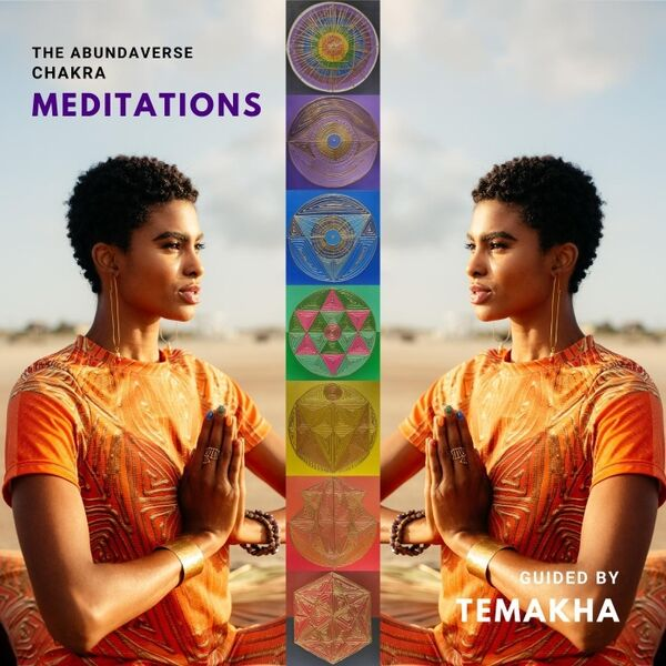 Cover art for The Abundaverse Chakra Meditations