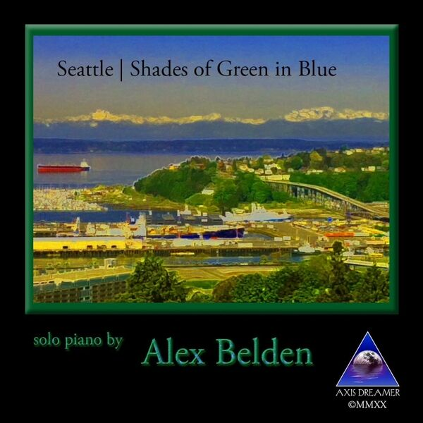 Cover art for Seattle: Shades of Green in Blue