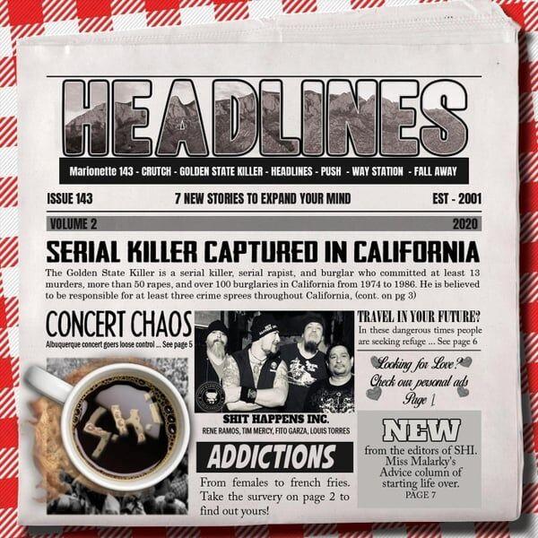 Cover art for Headlines