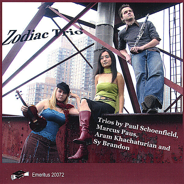 Cover art for Zodiac Trio