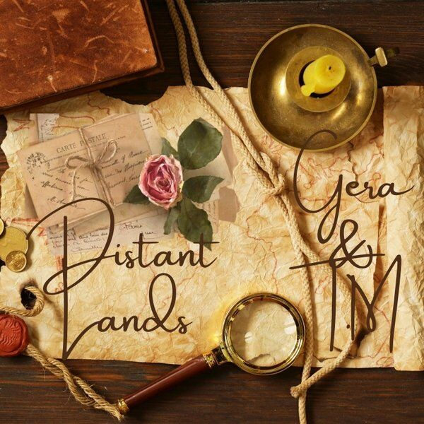 Cover art for Distant Lands
